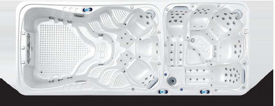 Canadian Spa International® - Nautilus XL Swim spa - vířivé bazény Spa Studio