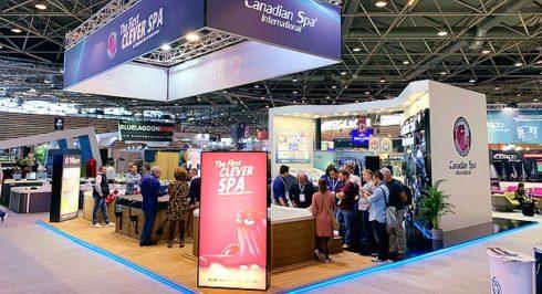 Úspěch vířivek Canadian Spa International výstava ve Francii - Lyon 2018