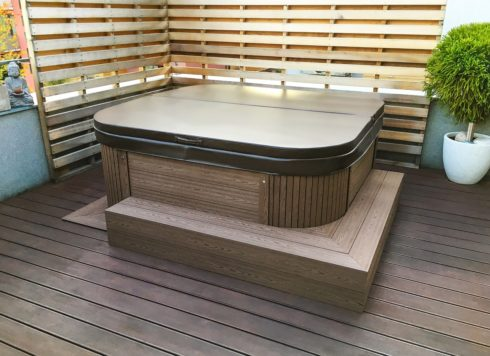 Canadian Spa International® Nemo Excellence intimate whirlpool on terrace - Spa Studio Praha