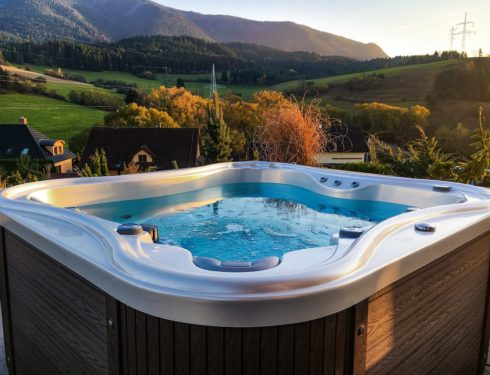 Nemo Excellence - luxurious whirlpool on terrace with beautiful lookout - Spa Studio