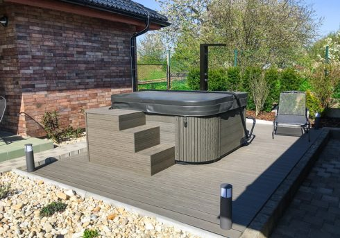 Nemo Excellence - luxurious whirlpool on terrace - Spa Studio