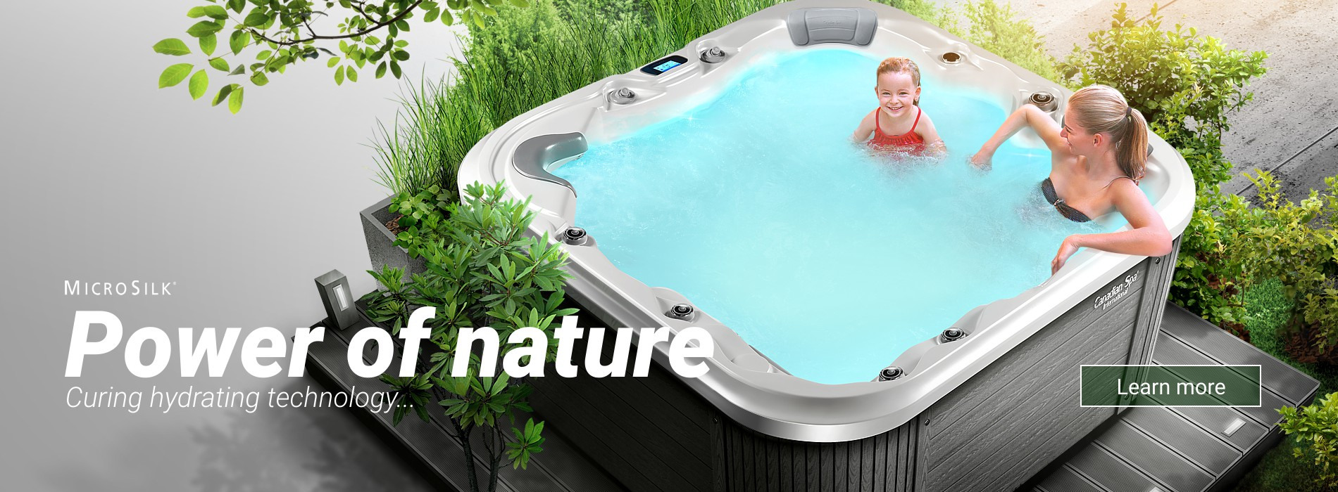 Power of Nature - Microsilk Hydrotherapy by Canadian Spa International®