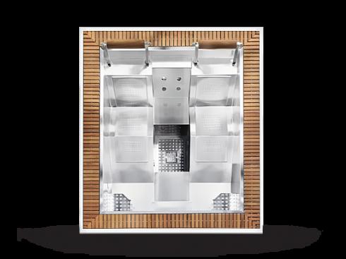 Hot tub wellness whirlpool Mercurio - Luxusní masážní vířivky - Spa Studio